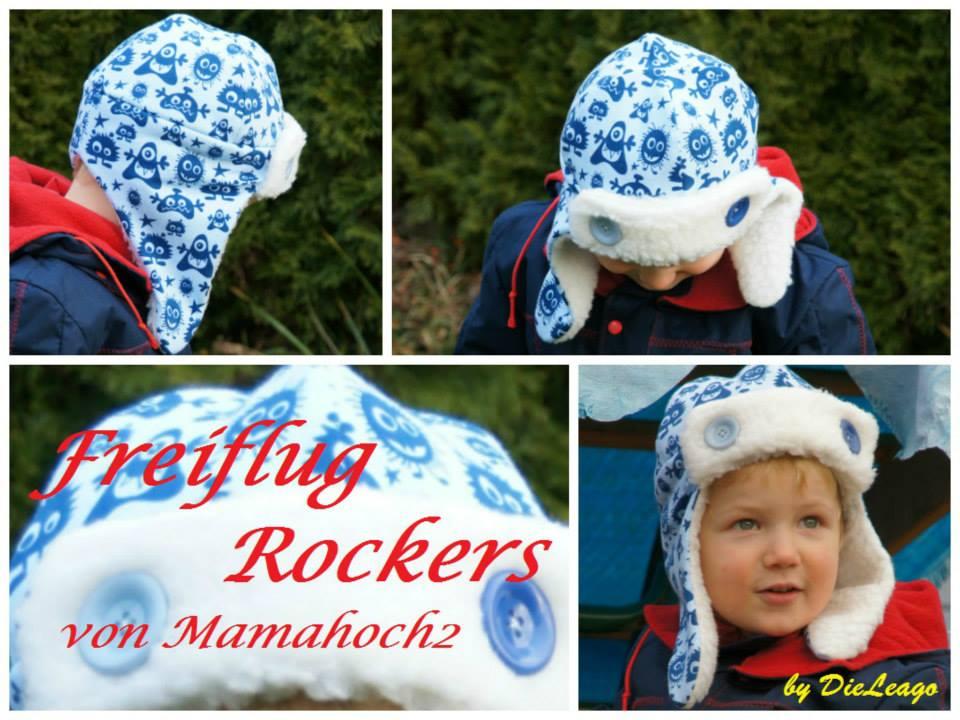 Freiflug Rockers - Erweiterung der Wintermütze nähen ⋆ Mamahoch2