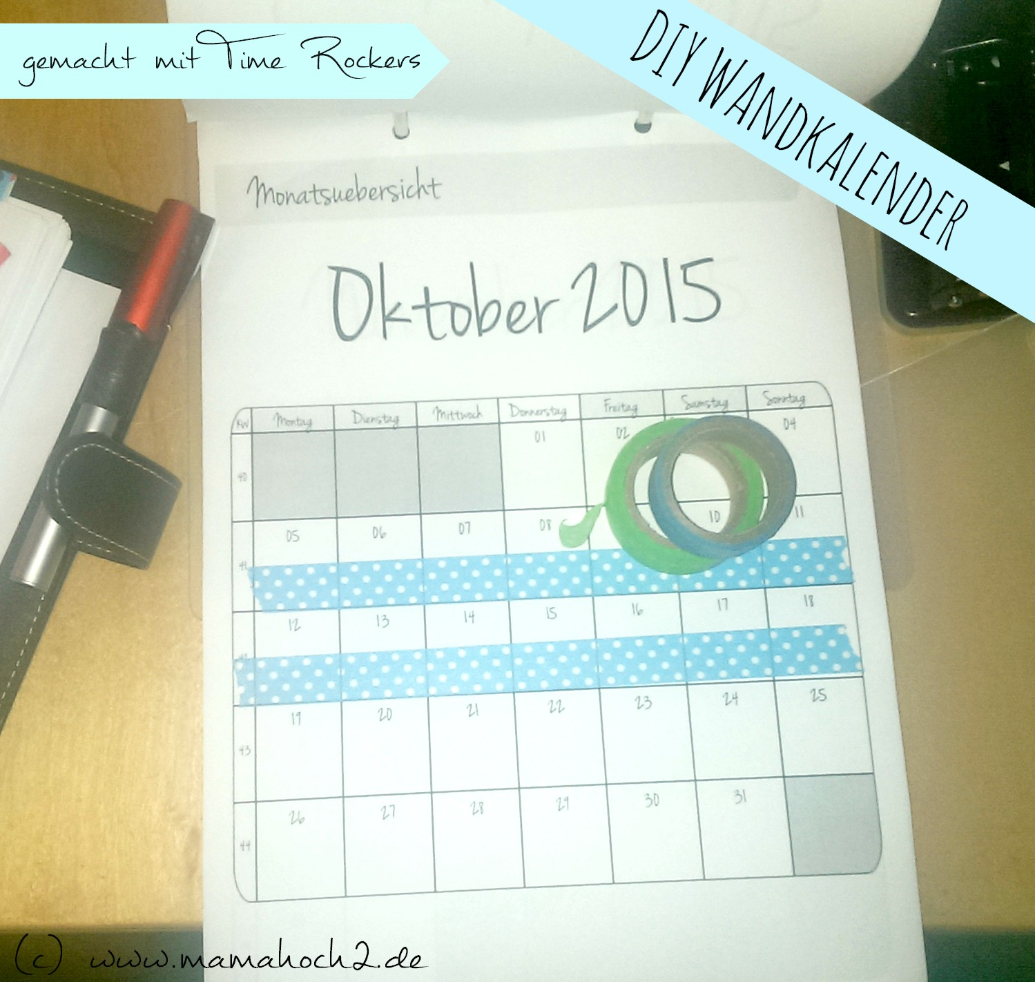 diy wandkalender