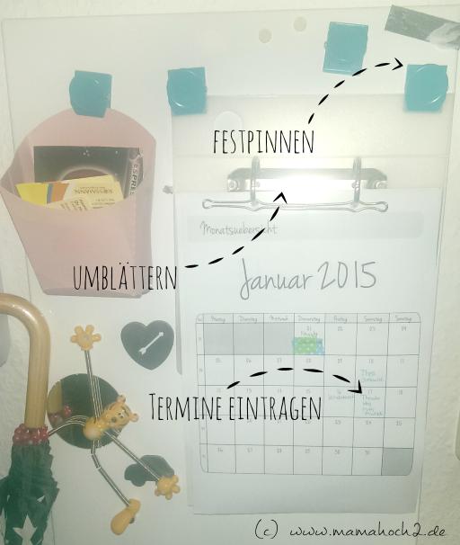 kalender selbstgemacht