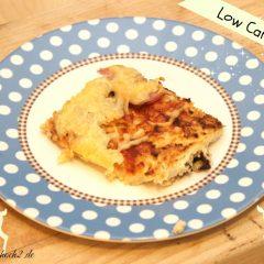 Die besten Low Carb Rezepte #1 Low Carb Pizza