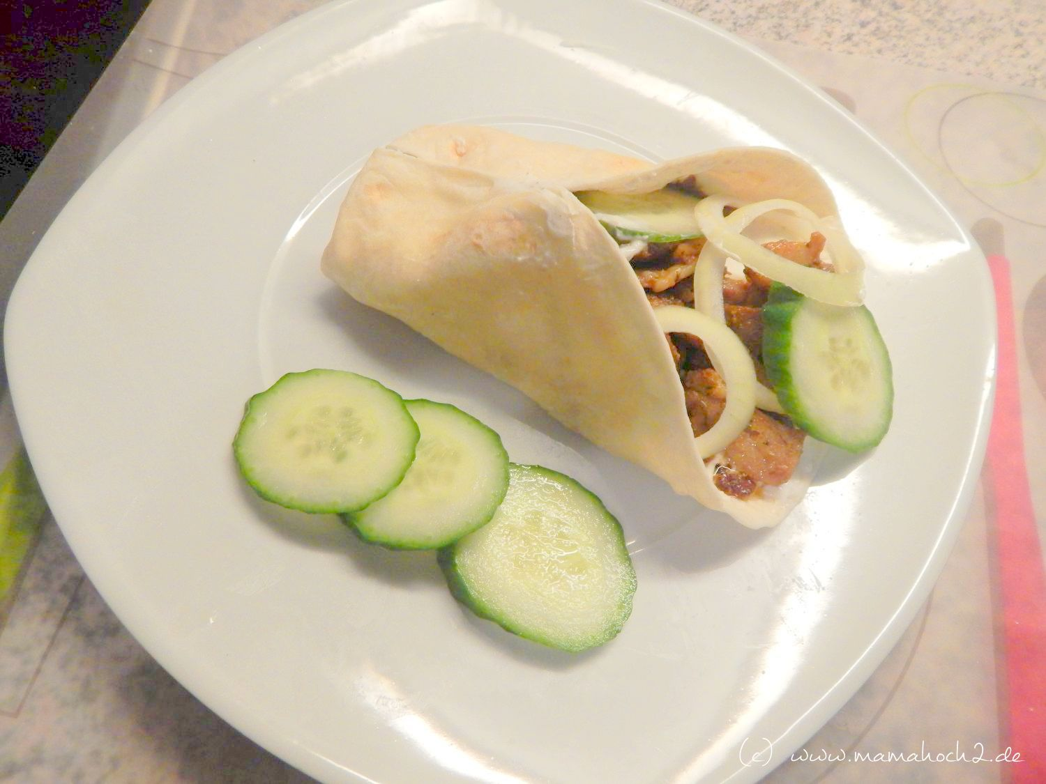 low carb wrap rezept