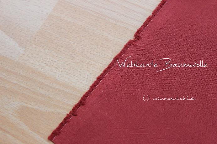 Webkante Baumwolle