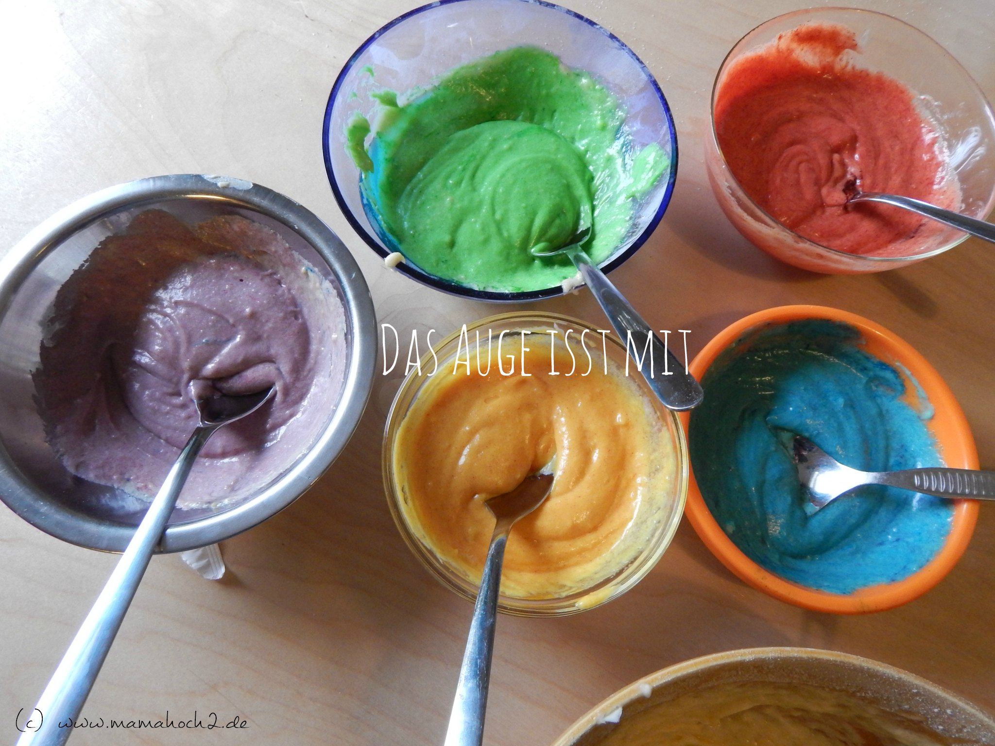 cupcake bunt färben
