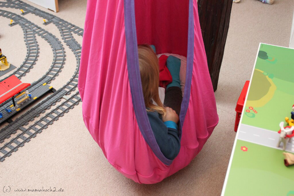 Kinderzimmer Ideen #2 - Schaukeln und Klettern auch im Kinderzimmer ...