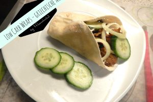 Die besten Low Carb Rezepte #2: Low Carb Wraps – griechische Art