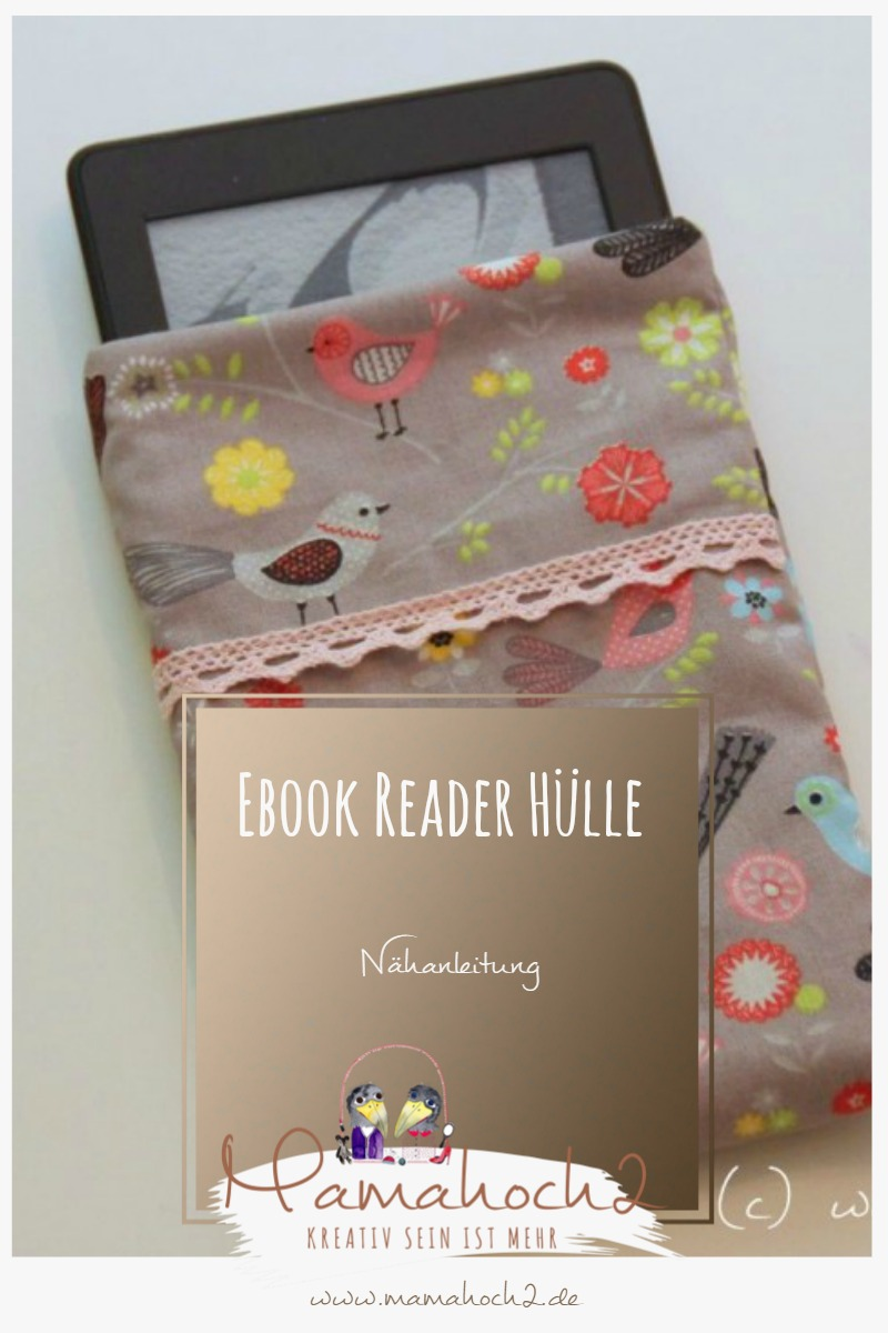 Nähanleitung Ebook Reader Hülle
