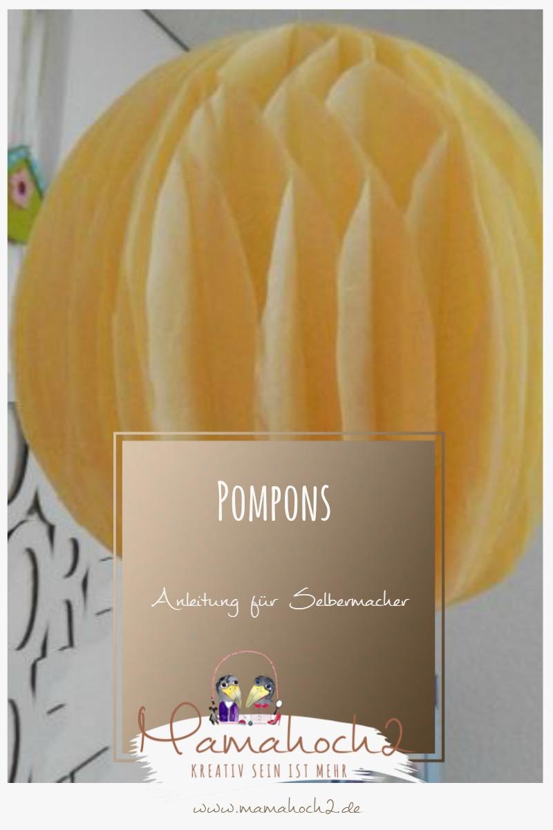 Pompons – so machst du sie dir selbst