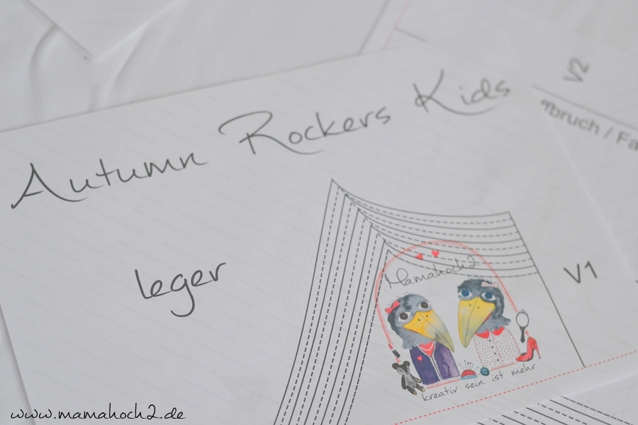 T-Shirt nähen – Summer Rockers – Freebook 3