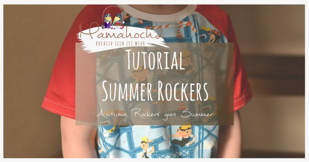 T-shirt nähen - Summer Rockers Kids Freebook 98-146 ⋆ Mamahoch2