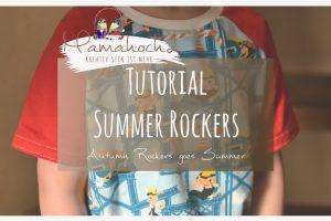 T-shirt nähen – Summer Rockers Kids Freebook