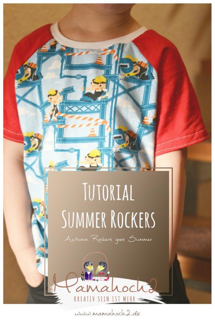 T-shirt nähen - Summer Rockers Kids Freebook 98-146 ⋆ Mamahoch2