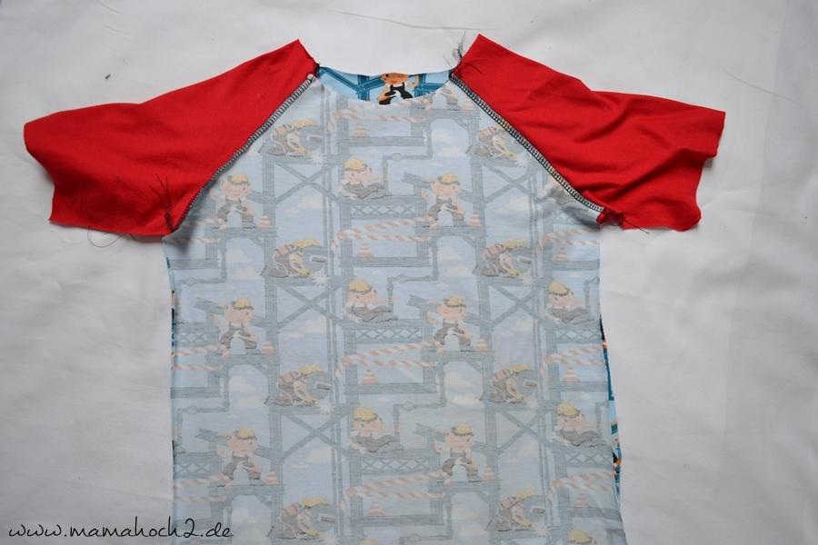T Shirt Nähen Summer Rockers Kids Freebook 98 146 Mamahoch2