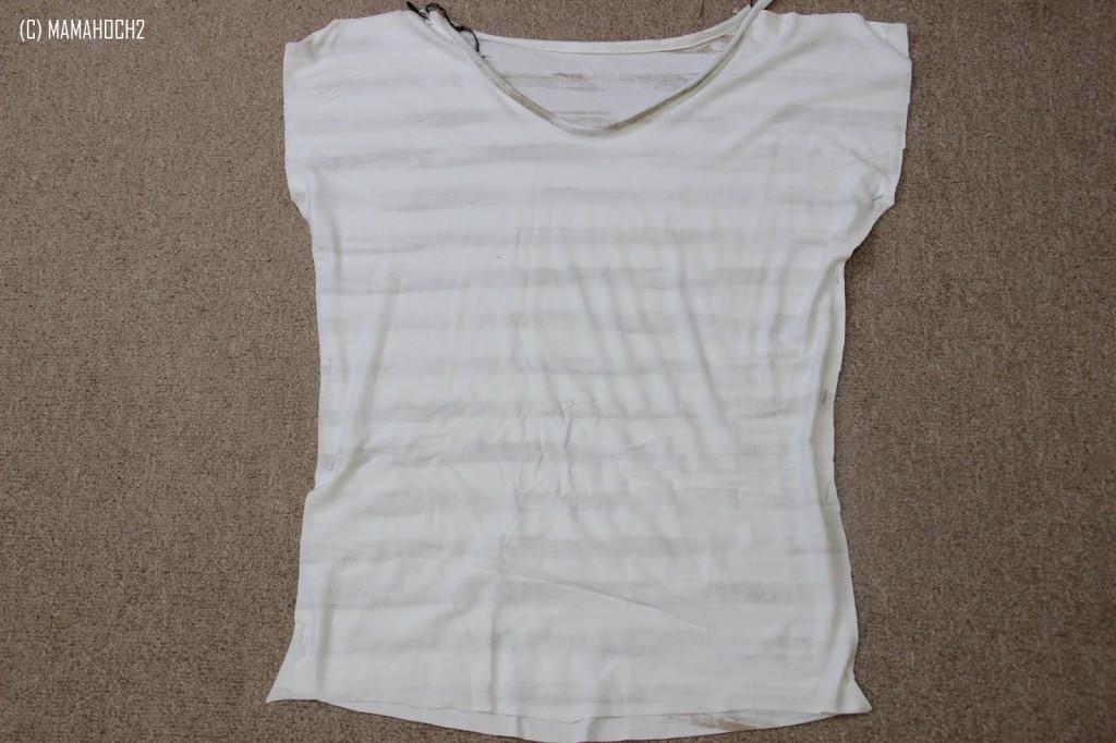 Shirt zusammen nähen