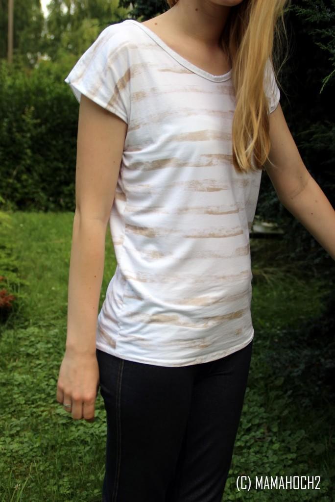 Shirt Tragebild