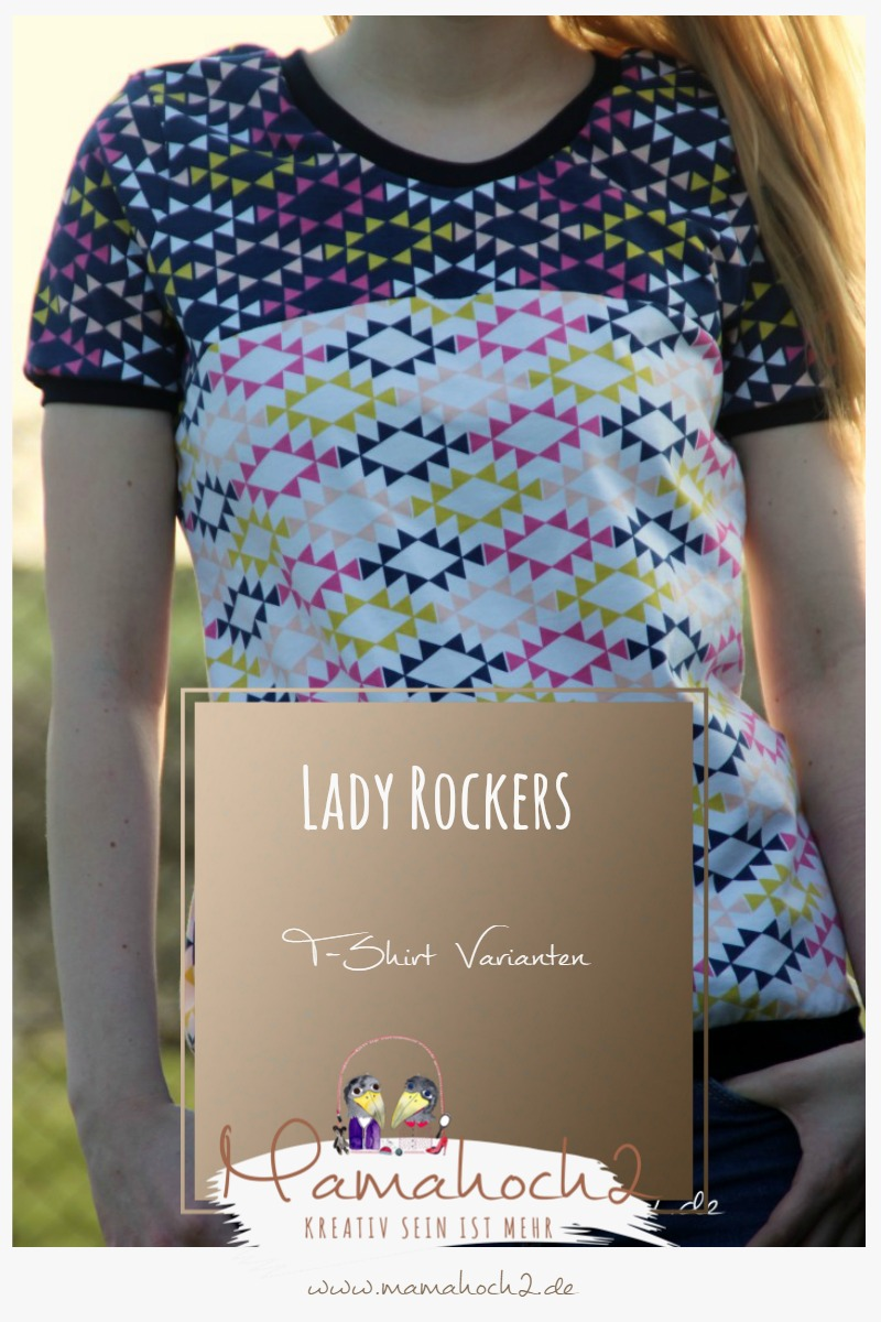 Lady Rockers T-Shirt Varianten