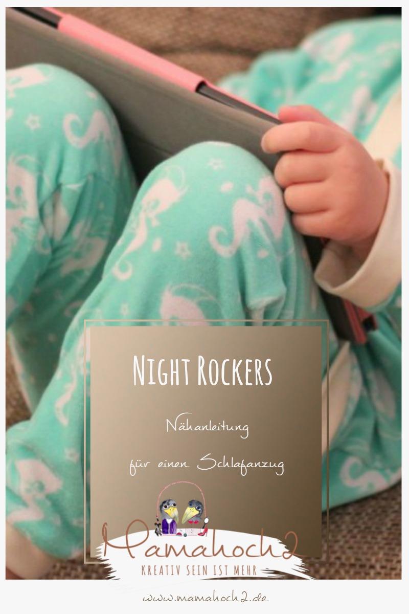 Nähanleitung für einen Schlafanzug – Mamahoch2 Night Rockers