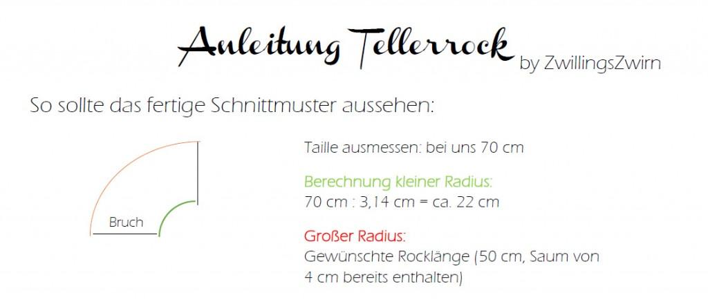 Tellerrock Anleitung