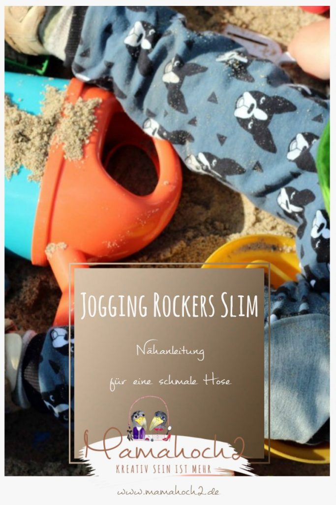 Nähanleitung für eine schmale Jogging Hose – Jogging Rockers