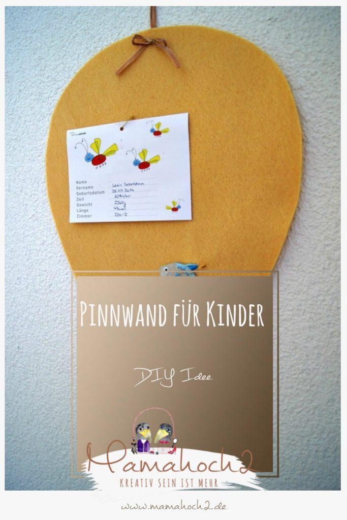 DIY Idee – Pinnwand für Kinder