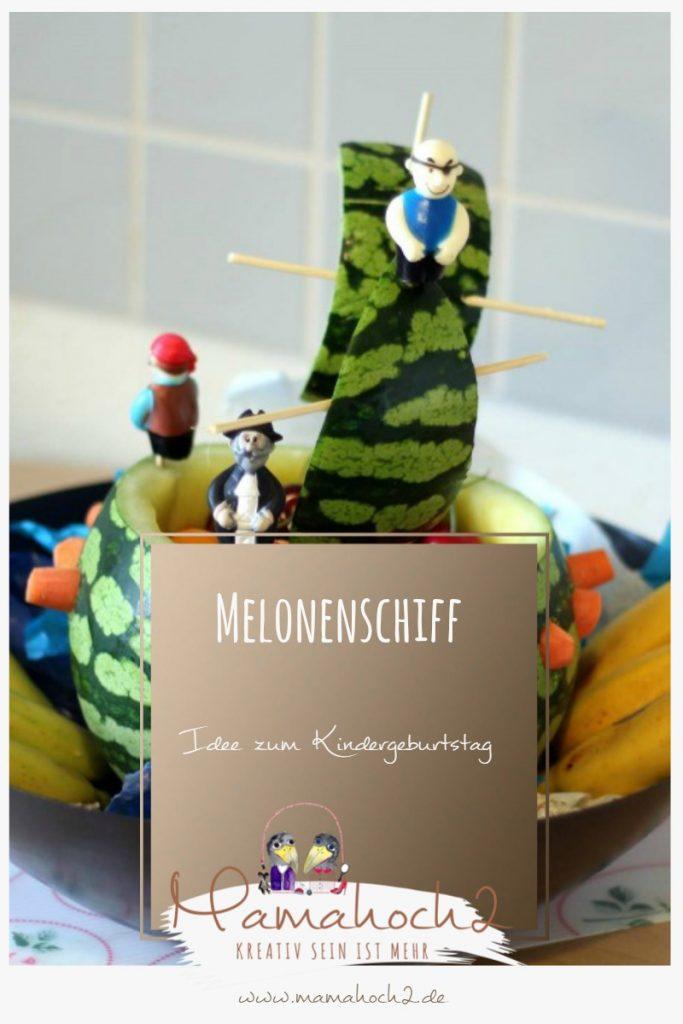 Melonenschiff – Idee zum Kindergeburtstag