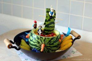 Setzt die Segel! Melonenschiff für die Piratenparty