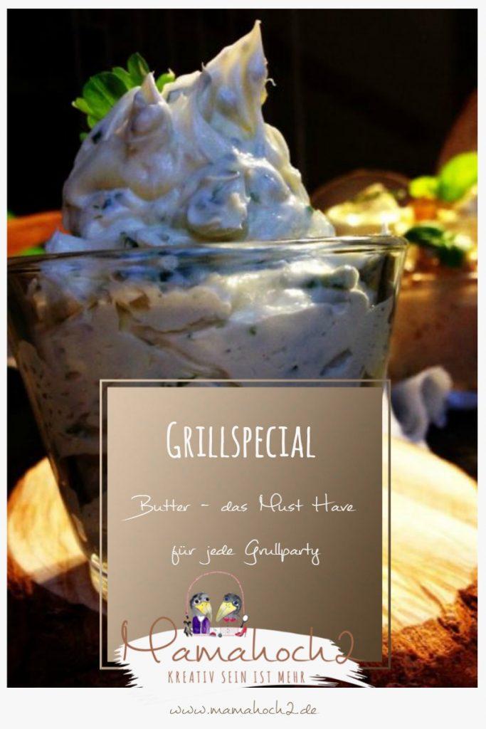Grillspecial – Butter in verschiedenen Varianten