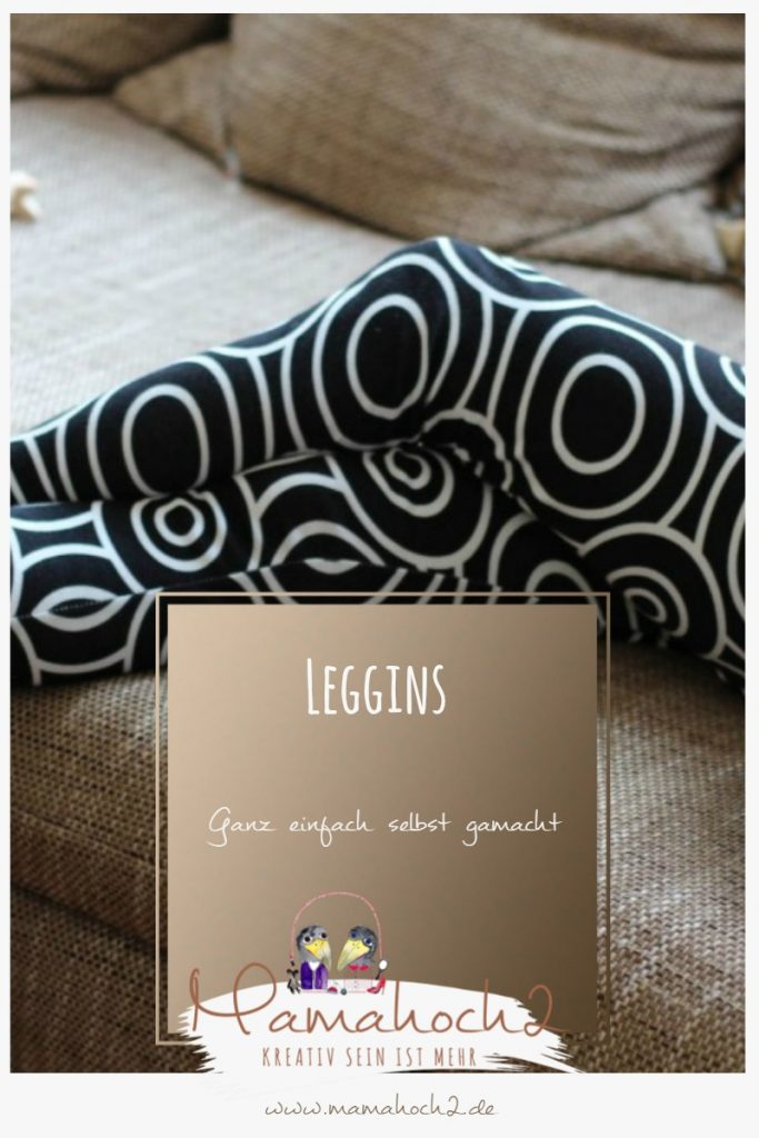 Leggins selbst gemacht – Nähanleitung