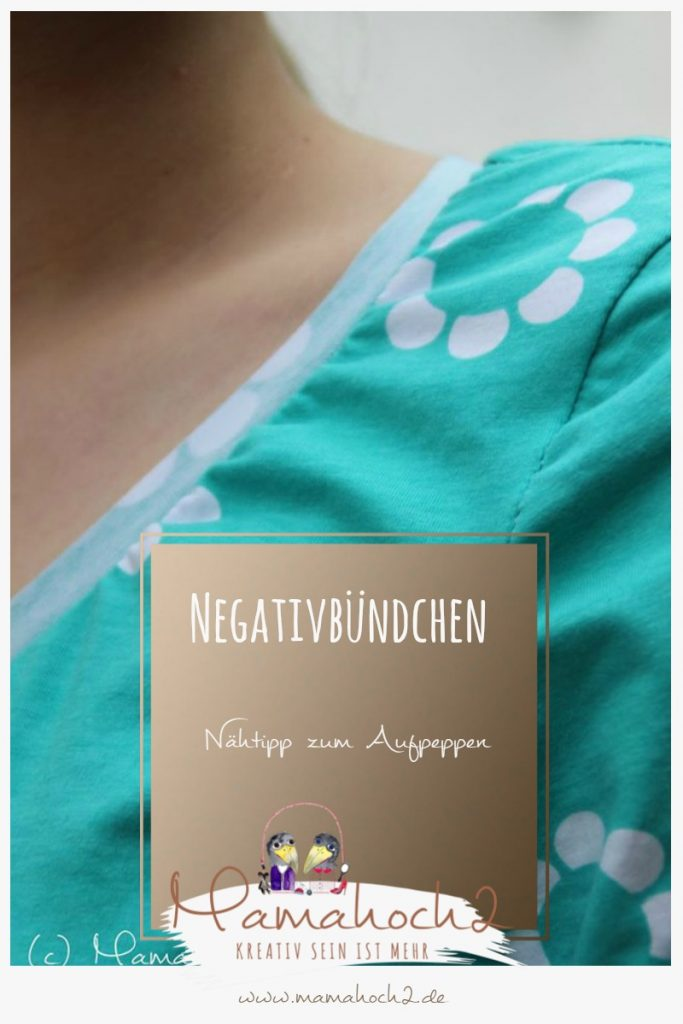Nähtipp Negativbündchen