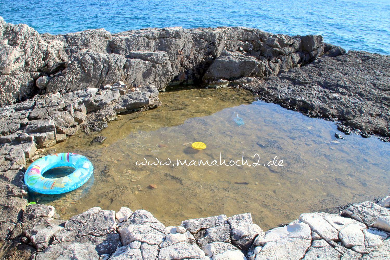 planschbecken natura urlaub kroatien