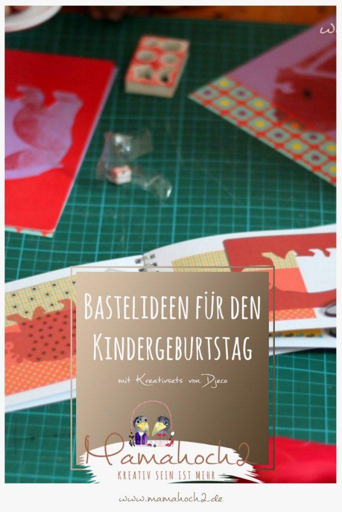 Kreativsets Djeco basteln Kindergeburtstag