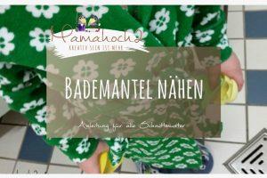 Nähtutorial Bademantel –  Bade Rockers
