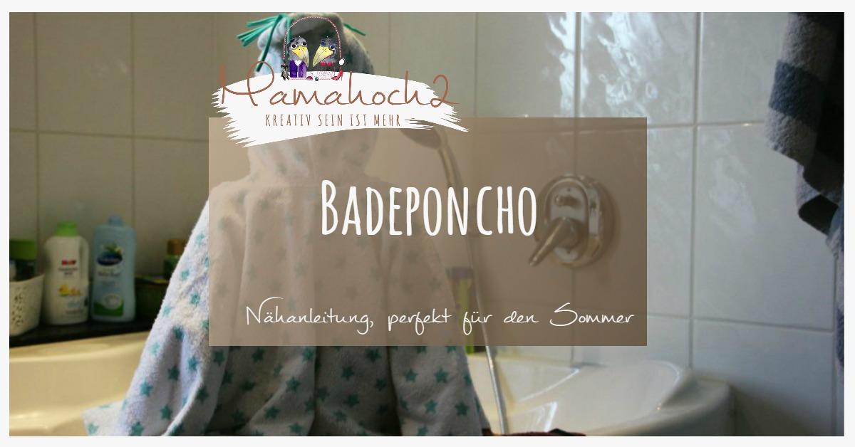 Badeponcho, eine Alternative zum Bademantel ⋆ Mamahoch2