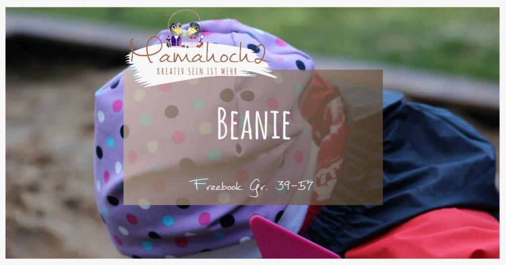 Freebook für eine Beaniemütze - Nähanleitung mit Video ⋆ Mamahoch2