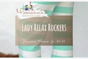 Freebook Nähanleitung Lady Relax Rockers Damenhose 34-44