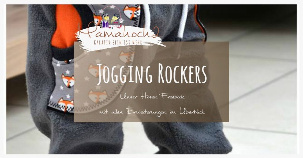 Freebook Schnittmuster Jogging Rockers