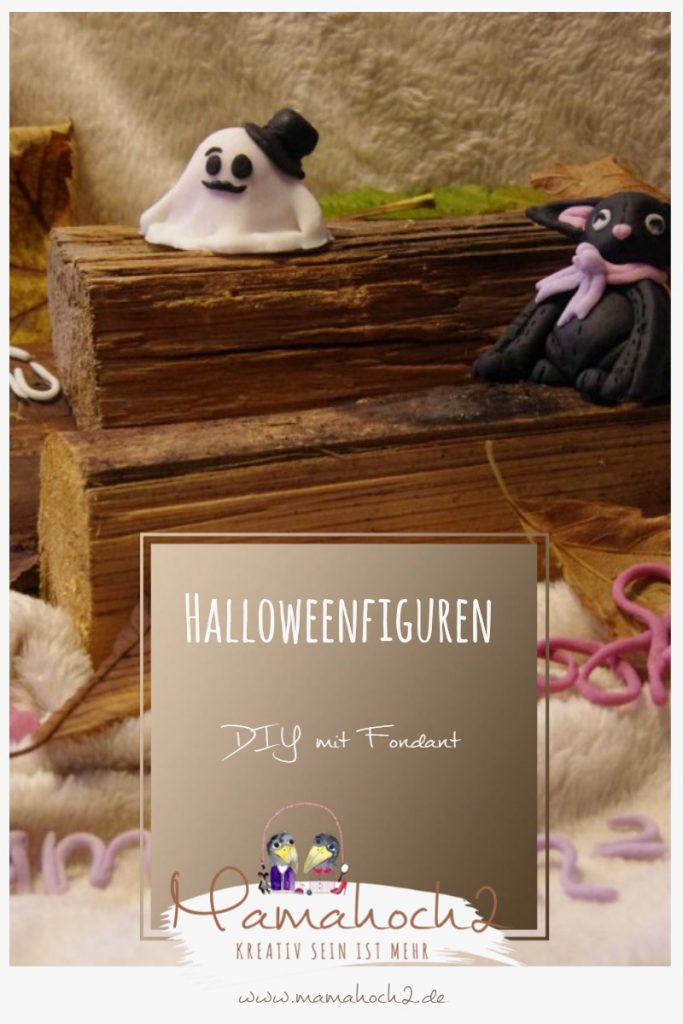 Halloweenfiguren aus Fondant