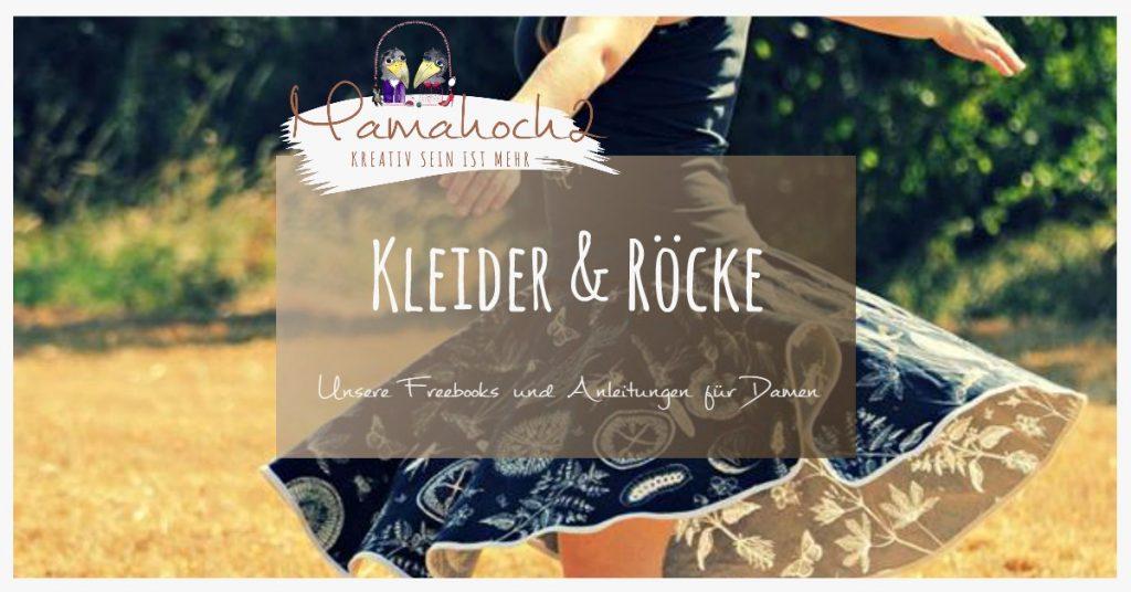Kleider Röcke Freebooks Damen