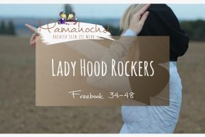 Lady Hood Rockers Freebook Nähen