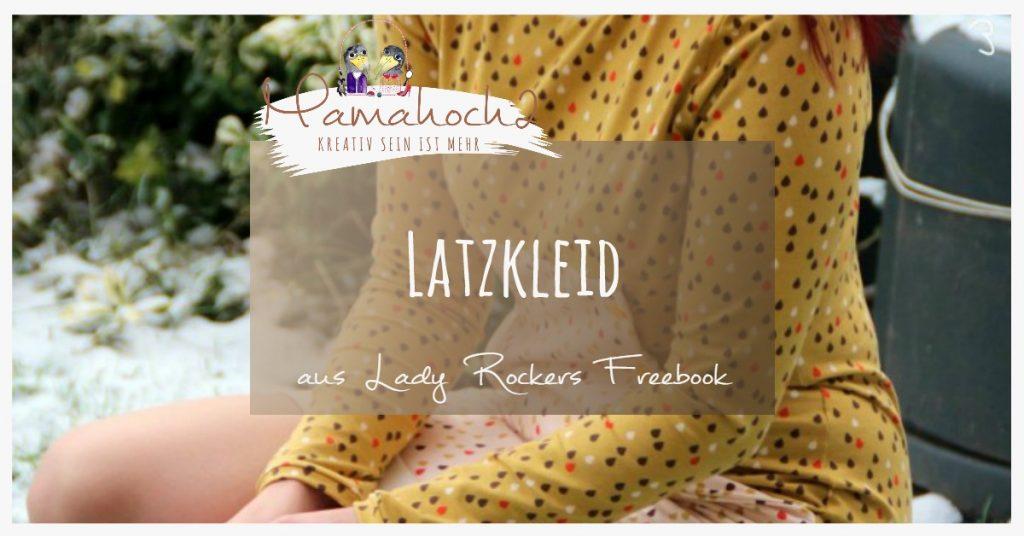 Latzkleid nähen freebook