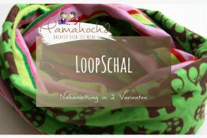 Loopschal Nähanleitung