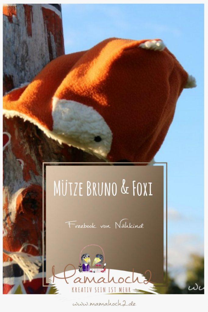 Mütze Bruno & Foxi – Freebook von Nähkind für eine Fuchsmütze