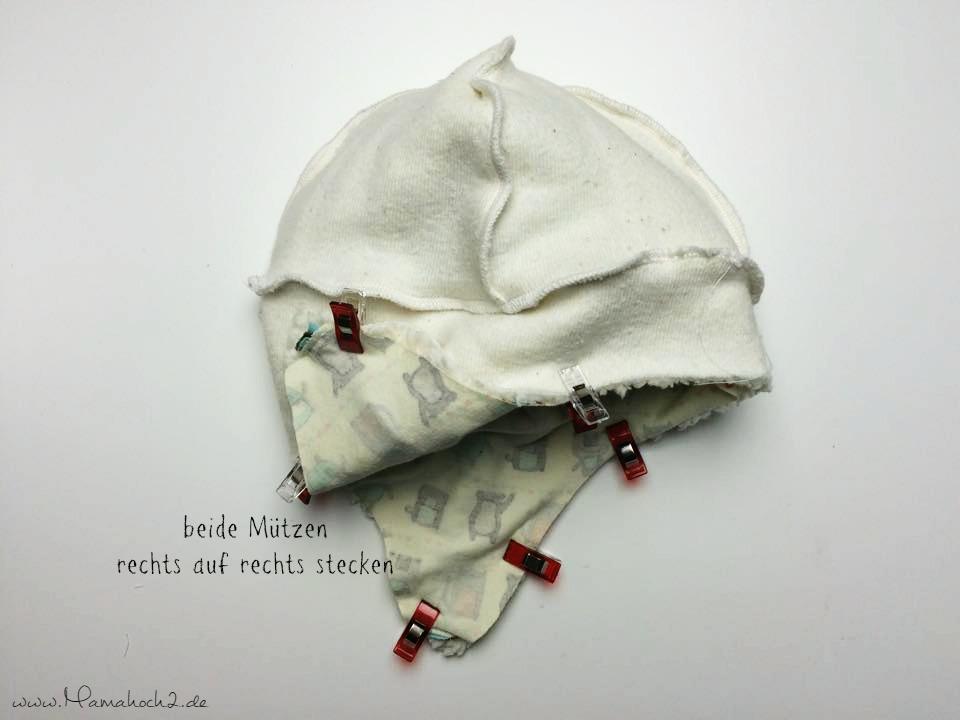 Mamahoch2 Tutorial Mütze wenden 8