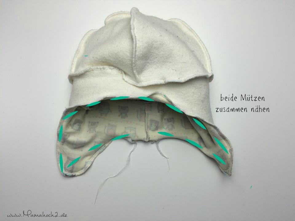 Mamahoch2 Tutorial Mütze wenden 9