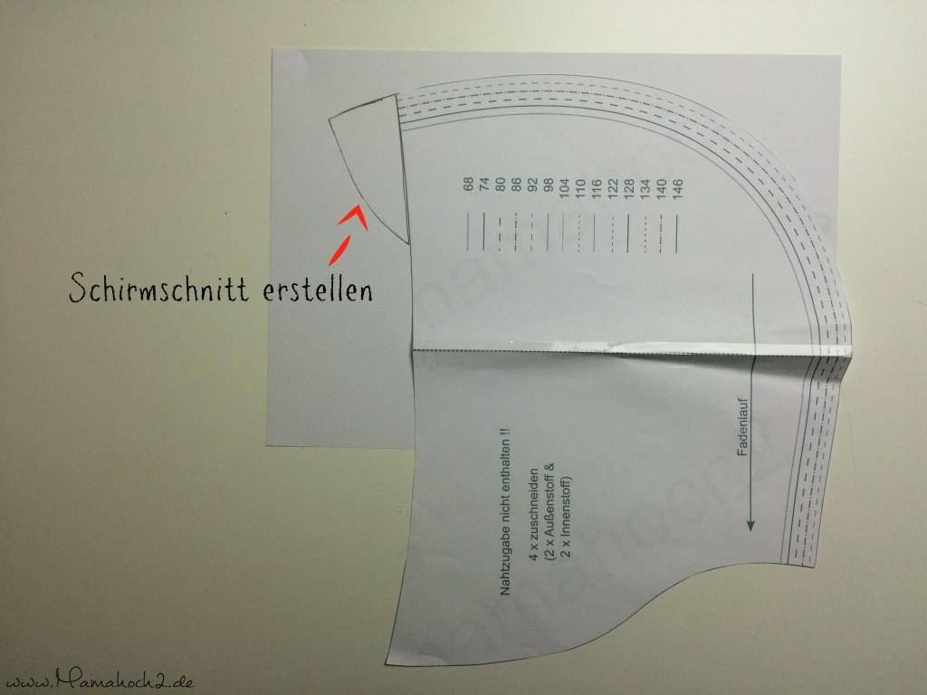 Mamahoch2 Übergangsjacke Tutorial 4