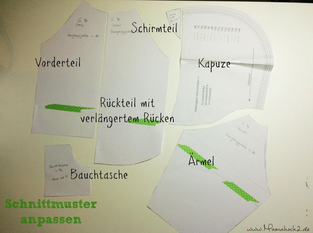 Mamahoch2 Übergangsjacke Tutorial 5