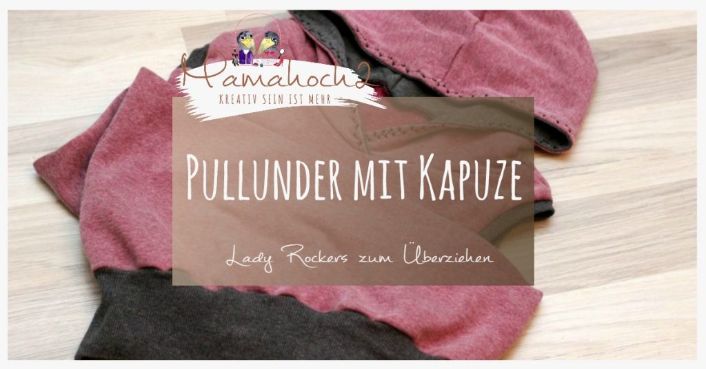 Nähanleitung Freebook Lady Rockers Pullunder