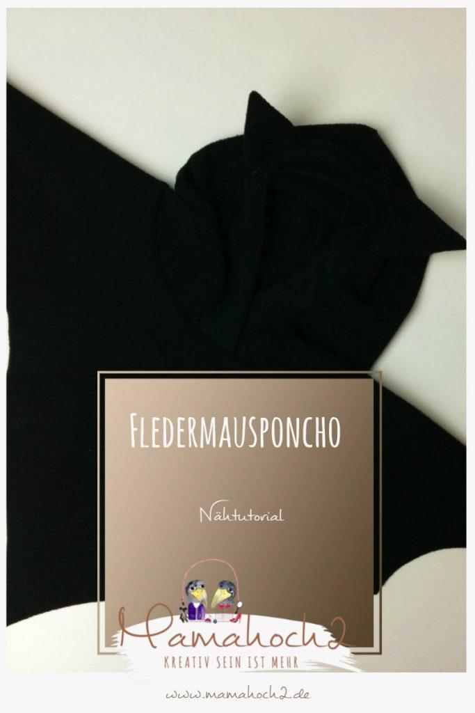 Nähtutorial Fledermausponcho