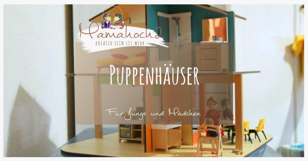 Puppenhäuser für Jungs und Mädchen
