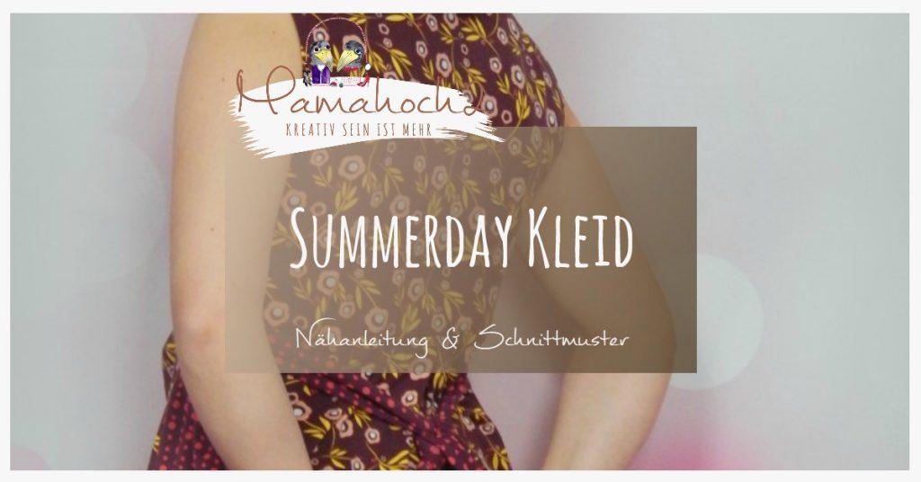 Summerday Kleid Schnittmuster Freebook Nähanleitung