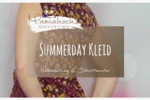 """Nähanleitung Kleid """"Summerday"""""""
